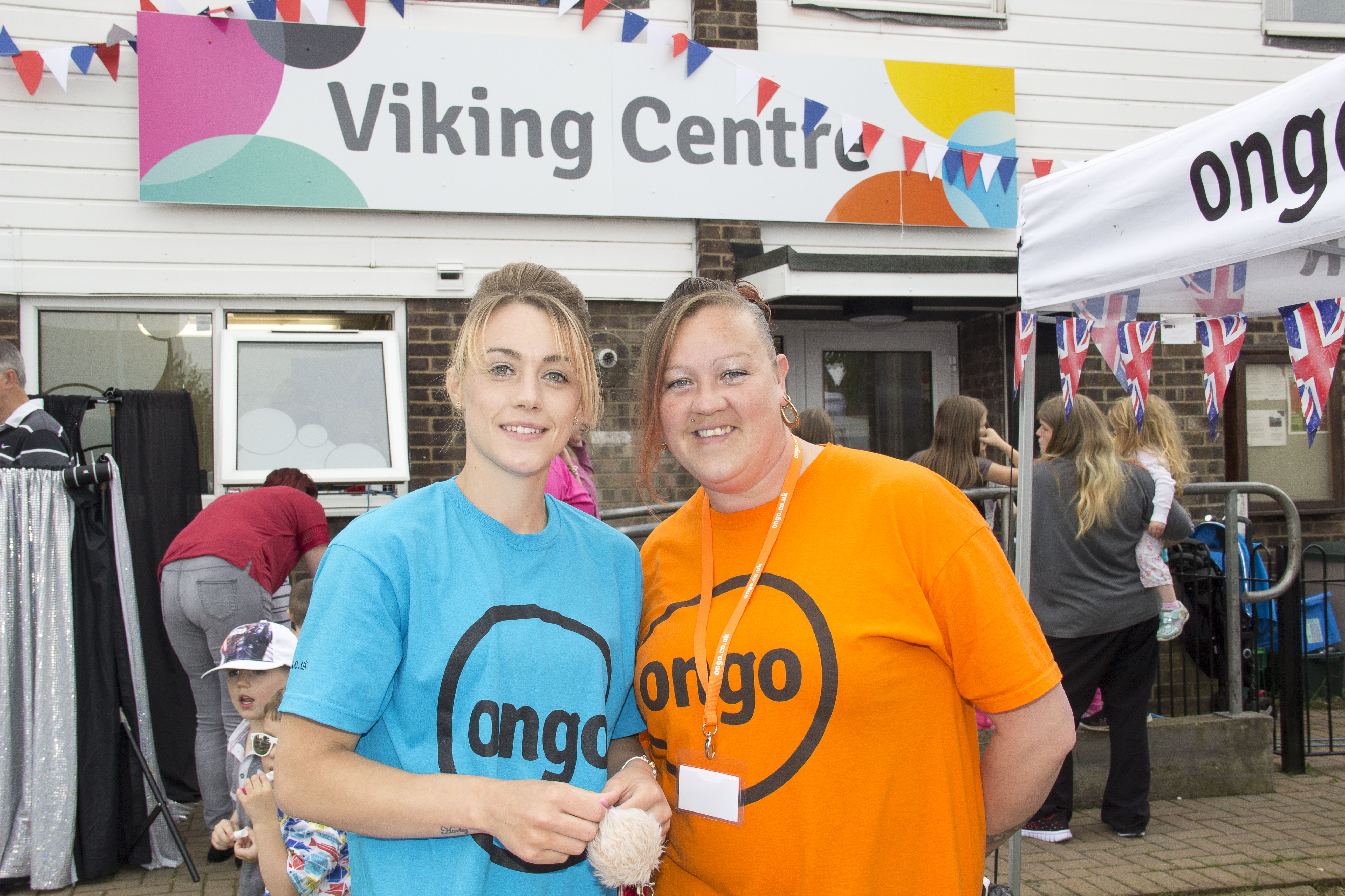 Viking centre Street Party- ladies in ongo tops.jpg
