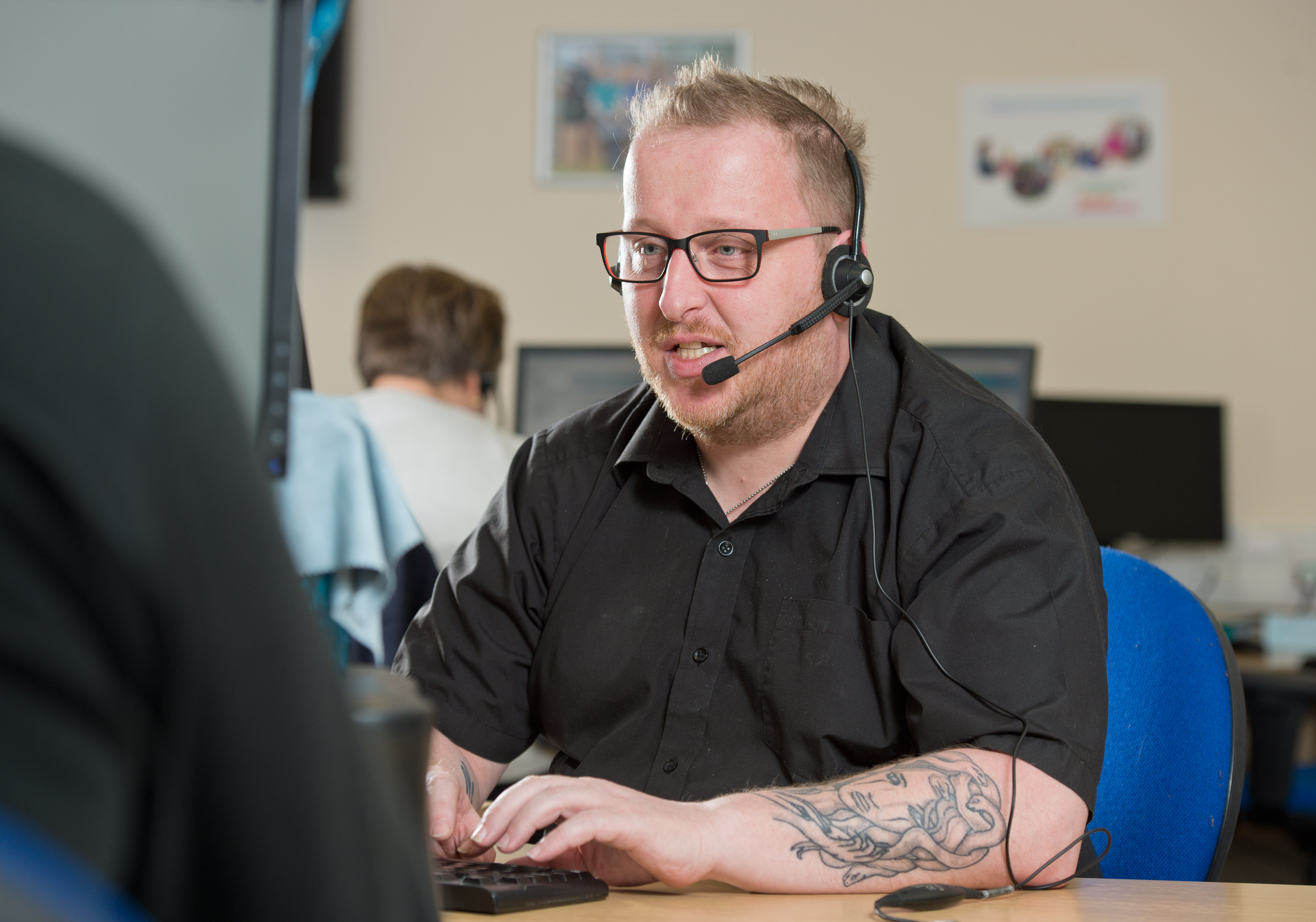 Dave Bostock call centre.jpg