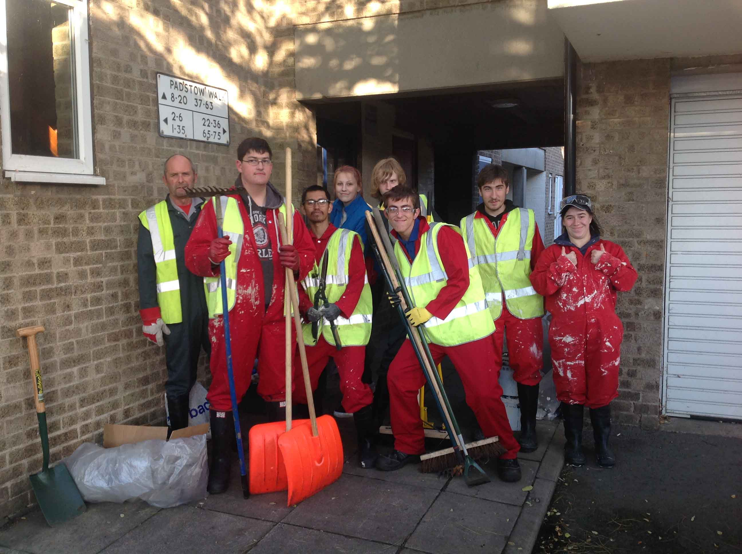 tidy up Westcliff