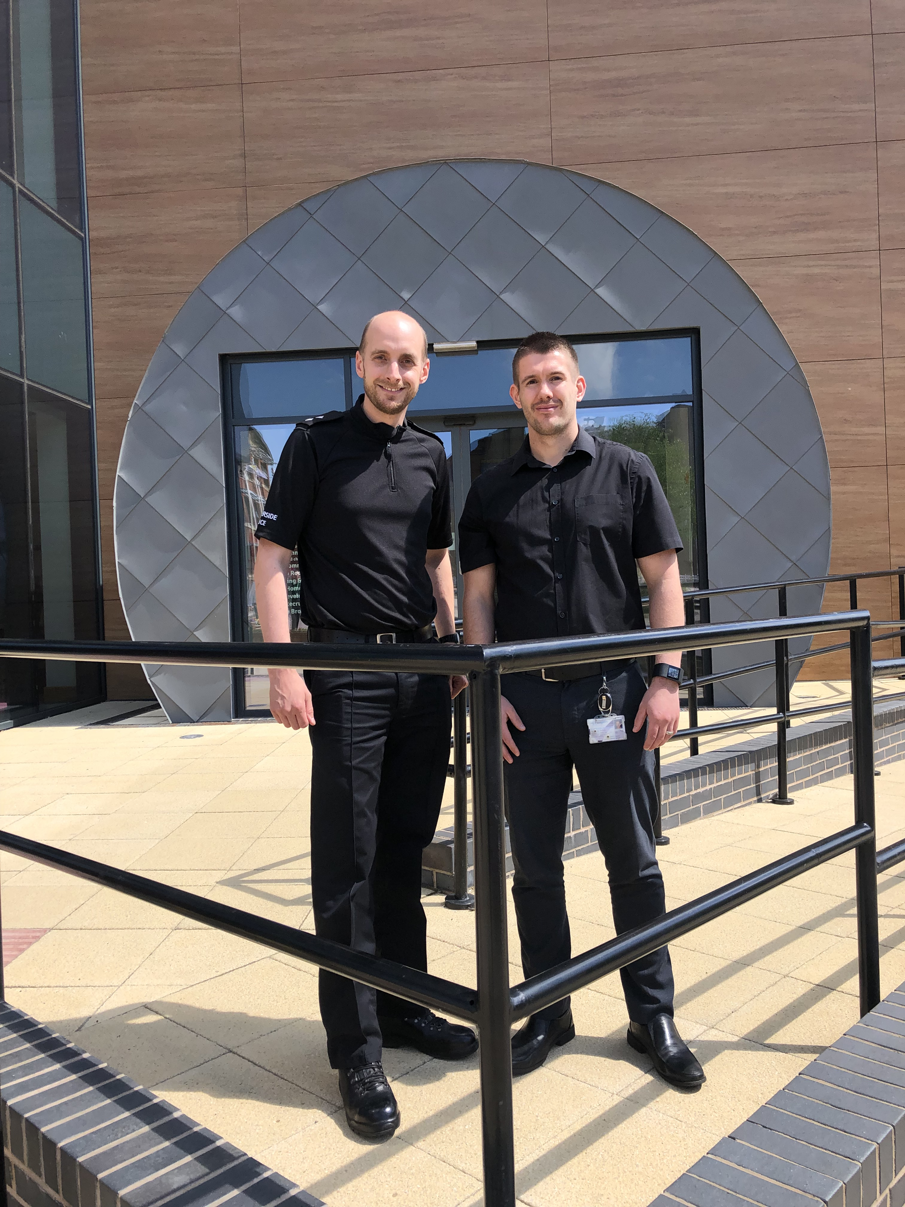 LEFT TO RIGHT Inspector Paul French with Scott Taylor, Housing Team Leader.jpg